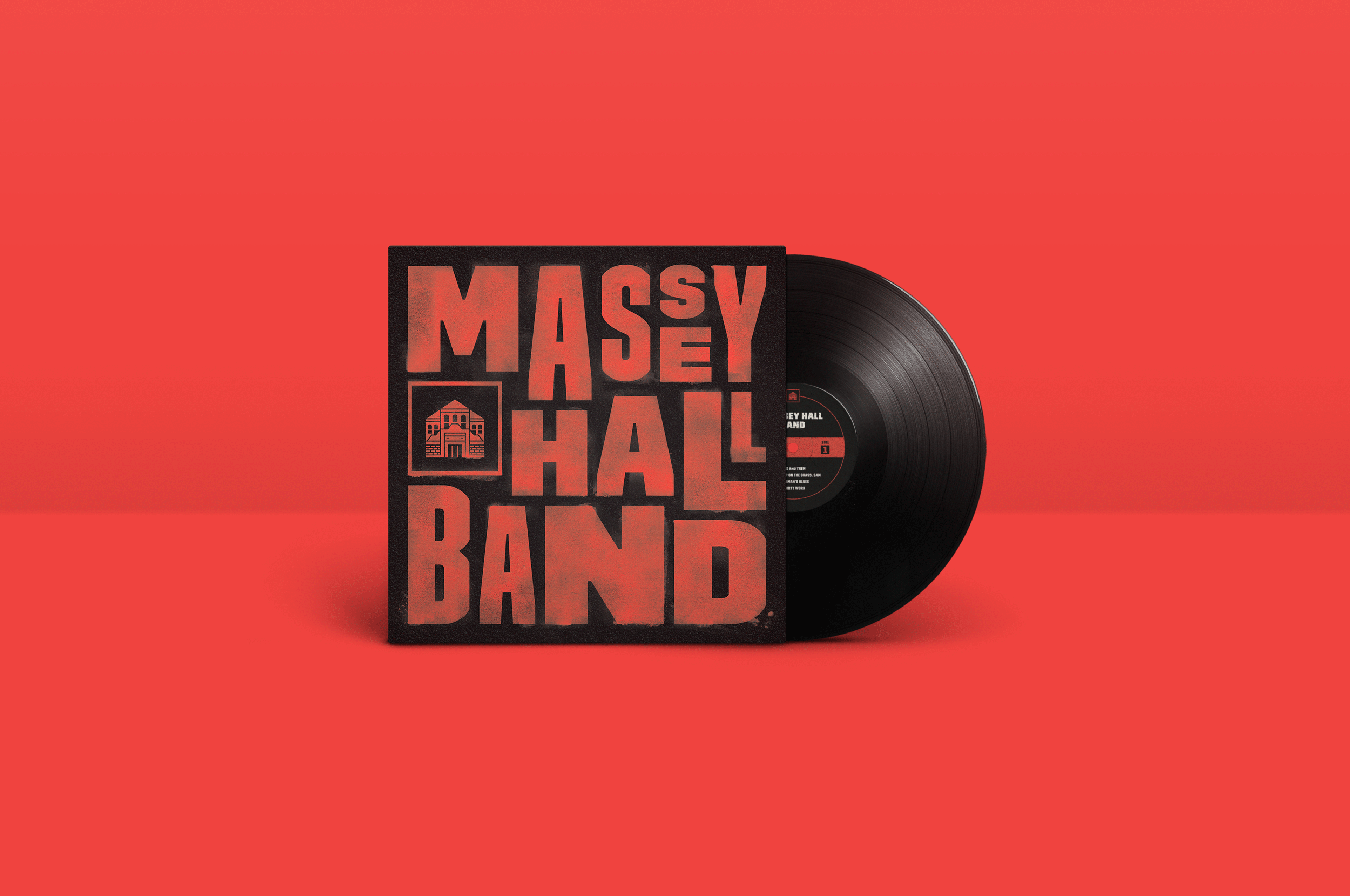Massey Hall Branding Logo Design